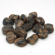 Chiastolite Tumbled Stone Irregular Polished Natural Rock Quartz Chakra Healing Decor Minerals Collection