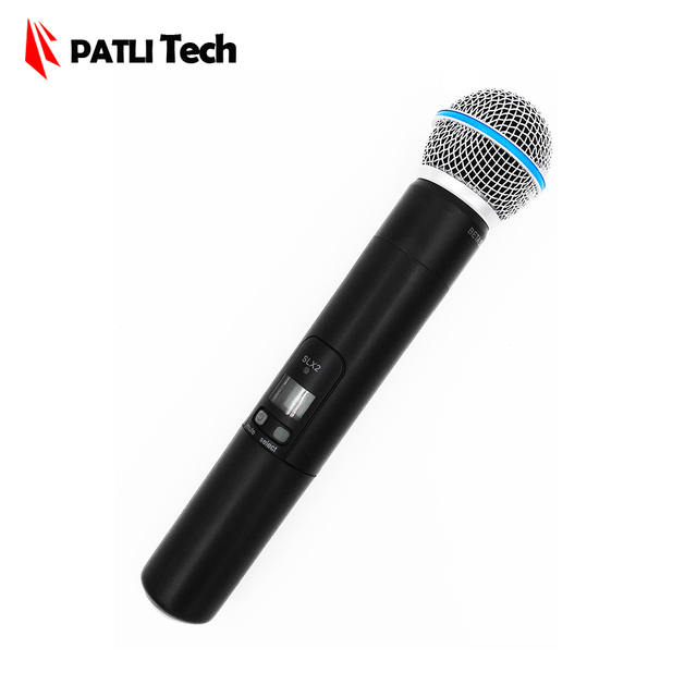 SLX-2 beta58 wireless Handheld transmitter, Microphone single hand microfone for karaoke / KTV / DJ SLX2 for SLX 24