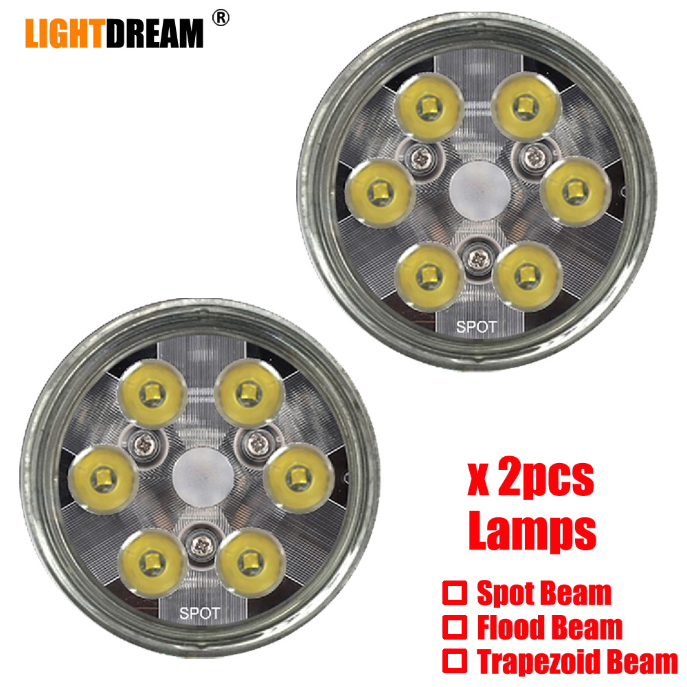 PAR 36 LED Landing / Taxi / Recognition Light For Aircraft PAR36 10-30V Par 36 Led Landscape Lights X2pcs Free Shipping