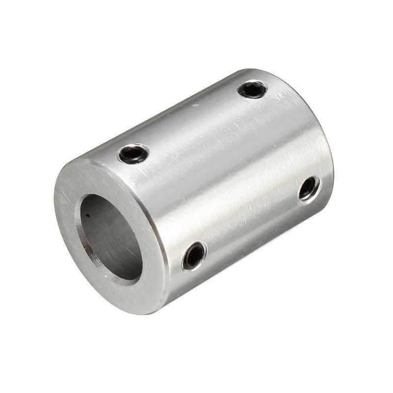 Acoplador de eixo rígido de aço 12x12mm, acoplador de eixo cnc, acoplador de eixo rígido + motor de parafuso apertado, 1 peça peças da transmissão de energia