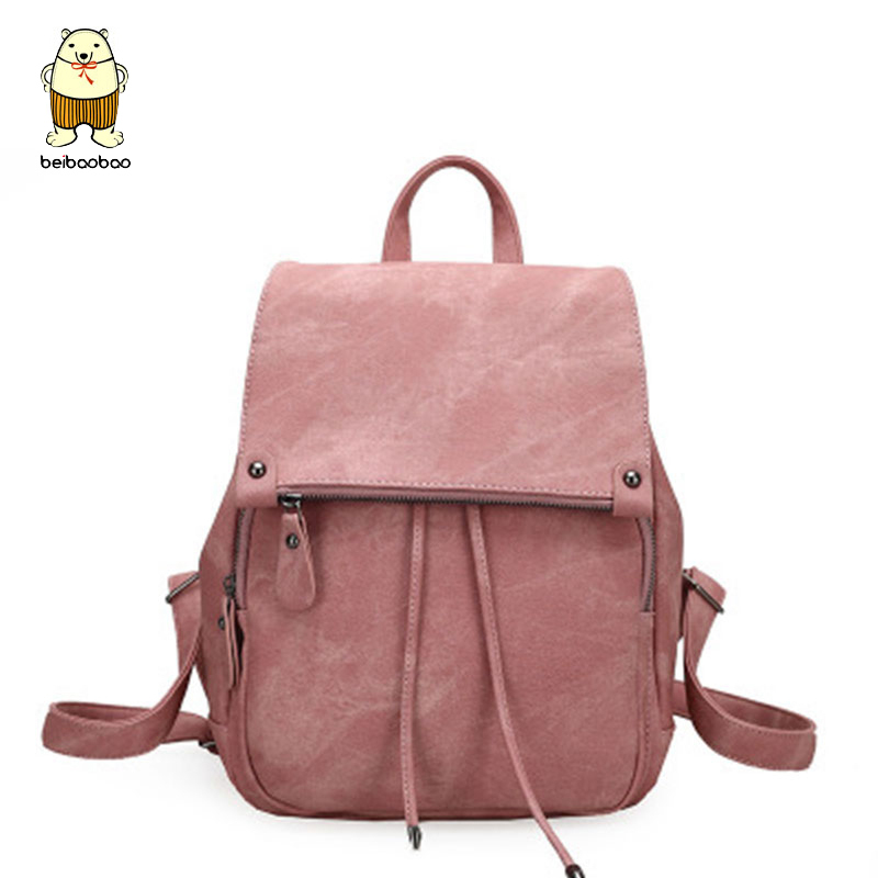 Beibaobao Women Backpack Fashion School Book Bags For Teenagers girls preppy PU leather Backpacks Bookbag women travel bag A3456 16 inch anime game of thrones backpack for teenagers boys girls school bags women men travel bag children school backpacks gift