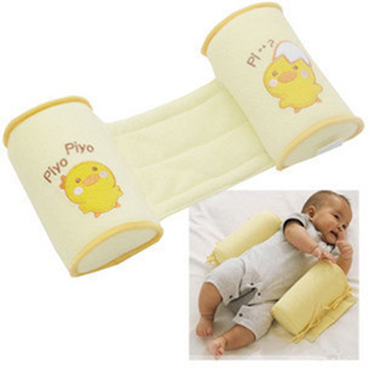 New Neonatal Corrects Head Type Anti-rollover Yellow Color Chicken Pattern Anti-deviation Protective  Stereotyped Baby Pillow-20