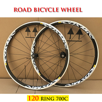 RUJIXU AK EQ COSMIC ELITE HOT Sale 700C 120 Ring Alloy V Brake Wheels Bmx Road