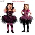 Girl Dress Kids  Summer 2016 Halloween Dresses Girls Princess Dress Aurora Girls Dresses Kids Party Halloween Costume Clothes