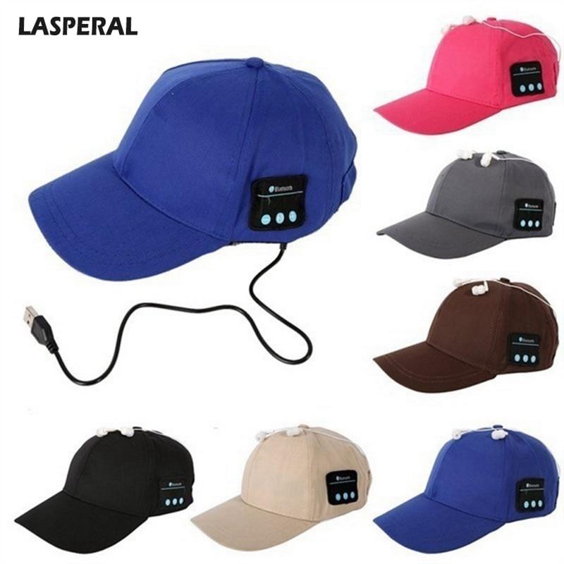 VertrauenswüRdig Lasperal Drahtlose Bluetooth Smart Kappe 2018 Neue Kommen Baseball Kappe Headset Kopfhörer Hut Lautsprecher Mic Kappe Dropshipping Verpackung Der Nominierten Marke