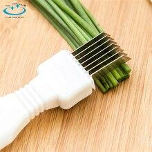 Utensilios de cozinha Spring Cutter gadget kitchen tools Onion Shredder Slicer /Onion knife Vegetable Cut cooking