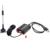Barato rádio dongle com Chip Realtek RTL2832u SDR RTL SDR SDR R820t melhor antena fácil de instalar