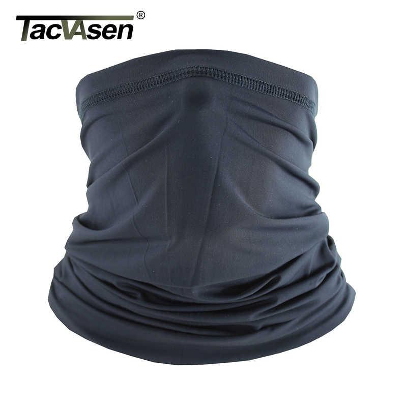 TACVASEN yaz taktik yüz maskesi hızlı kuruyan toz güneş UV koruma boyun körüğü yürüyüş balık motosiklet yüz maskesi Airsoft dişli