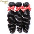 7А Необработанные Девы Человеческих Волос Weave Перуанский Свободная Волна Девственница волосы 3 Шт./лот Перуанский Мокрый и Волны 100% Человеческих Волос расширение