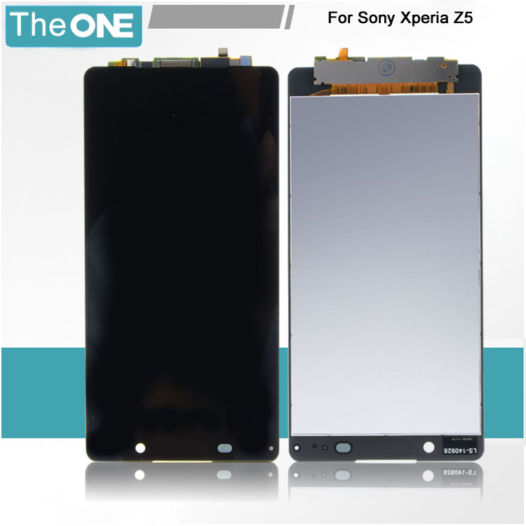 Подробнее о Free DHL White Black LCD Display Touch Screen Digitizer Glass For Sony Xperia Z5 E6603 E6653 E6633 E6683 black white original lcd display digitizer touch screen glass for sony xperia m4 aqua e2303 e2333 e2353 replacement free ship