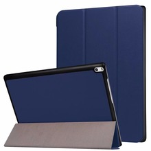 ocube DHL/EMSFolio Stand Custer PU Flip Protective Leather Case Cover For Lenovo Tab 4 10 Plus TB-X704F TB-X704N 10″Tablet