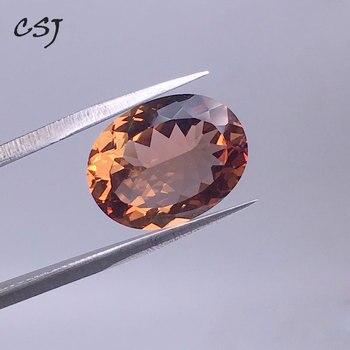 38162b1e9a60 Las congregaciones creado Diaspore Zultanite Oval corte de piedras  preciosas sueltas Sultanite para Diy joyería fina de plata 925 de cambio de  Color de ...