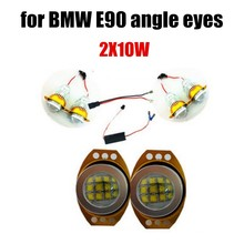 best price sale 2x 60W LED Angel Eyes Marker Light for BMW E90 E91 free shipping 2 pcs lamp super bright