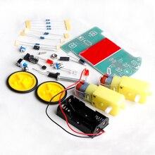 OOTDTY Nuevo Módulo de Seguimiento Inteligente Robot Car Kit DIY Electrónica Con Reducción Motor Set