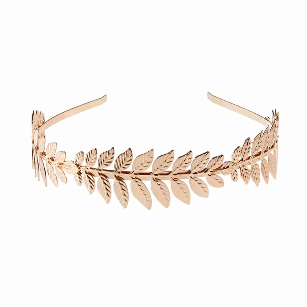 ผู้หญิง OLIVE Leaf อุปกรณ์เสริมผม Headbands สำหรับสาวผม Hoop มงกุฎเทพธิดางานแต่งงาน CHIC แฟชั่นของขวัญ Kopfband