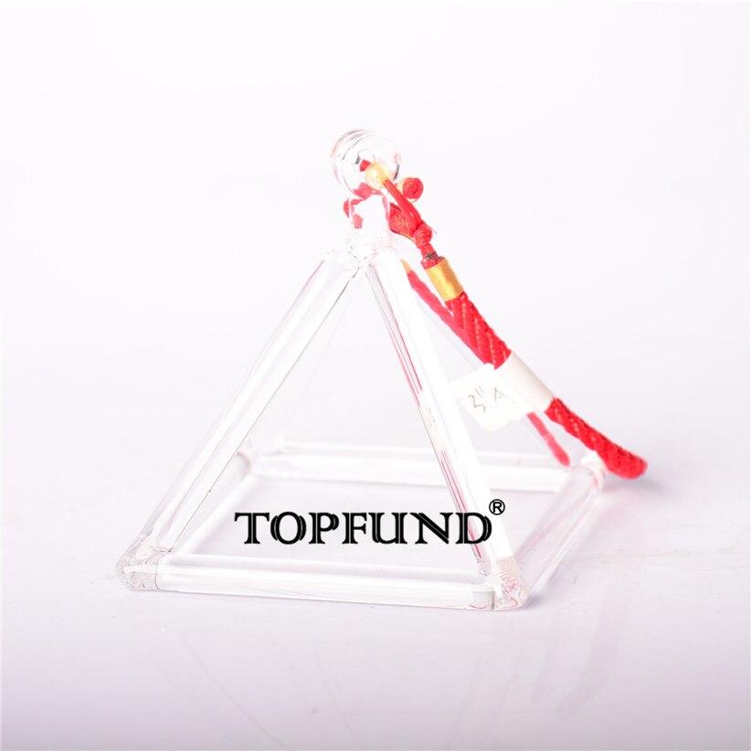 TOPFUND Quartz Crystal Singing Pyramid 5'' - Perfect Healing Musical Instrument nature aventurine quartz crystal pyramid point healing
