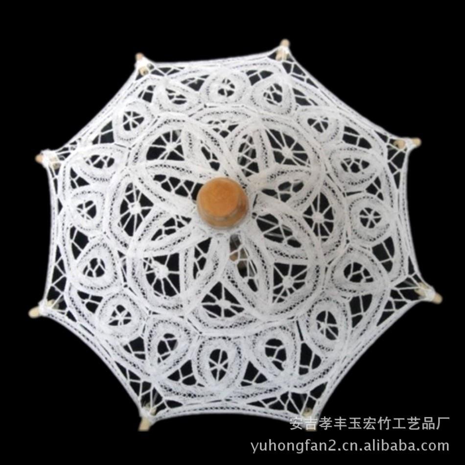 22875fc58 Fashion Hot Sale White Wedding bridal Umbrellas bamboo Wedding Umbrella  Lace Parasols small vintage cottons white lace umbrella-in Patio Umbrellas  & Bases ...
