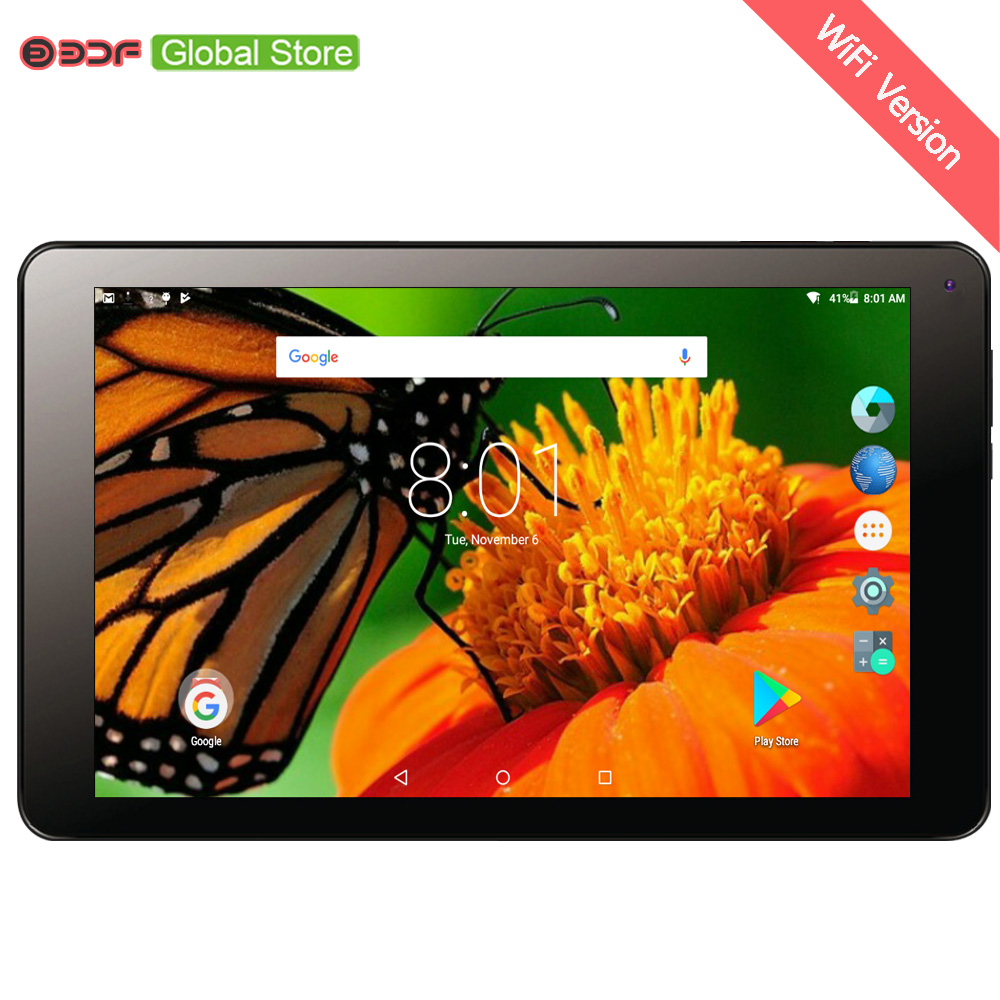 где купить 10.1 Inch Tablet Pc Android Tablets Pc Quad Core 1GB RAM 16GB ROM Dual Camera Bluetooth WiFi Version Tab Pc Google Play Store дешево