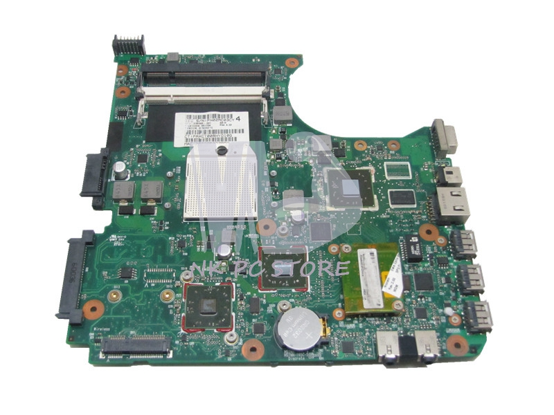 NOKOTION 538392-001 Main Board For Hp Compaq CQ516 CQ515 Laptop Motherboard Socket S1 DDR2 ATI Graphics nokotion 416903 001 laptop motherboard for hp compaq nx8220 nc8230 series intel 915pm with graphics card ati 9800 ddr2