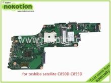 laptop motherboard for toshiba satellite C850D C855D 1310A2492002 SPS V000275280 amd socket fs1 ddr3