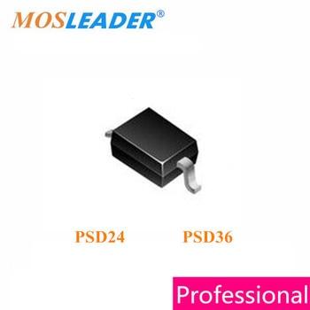 Mosleader PSD24 PSD36 SOD323 100PCS 3000PCS 0805 PSD24C PSD36C PSD24-LF-T7 PSD36-LF-T7 PSD24C-LF-T7 PSD36C-LF-T7 TVS Chinese фото