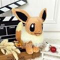 Hot 20cm Kawaii Pokemon Eevee Plush Toys Soft Stuffed Animal Doll Anime Kids Toys