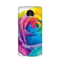 LGBT Amour Arc-En-Coeur de Drapeau Fleur Fierté Gay Lesbienne Cas pour Moto pour Motorola Z Z2 Force Jouer Magnétique Mods Couverture PhoneCase