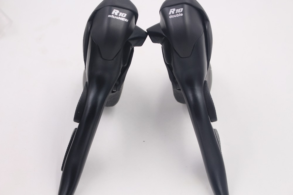 цена на Micronew Road Bike STI Shifters, 2 x 10 speed,Compatible for Shimano Groupset