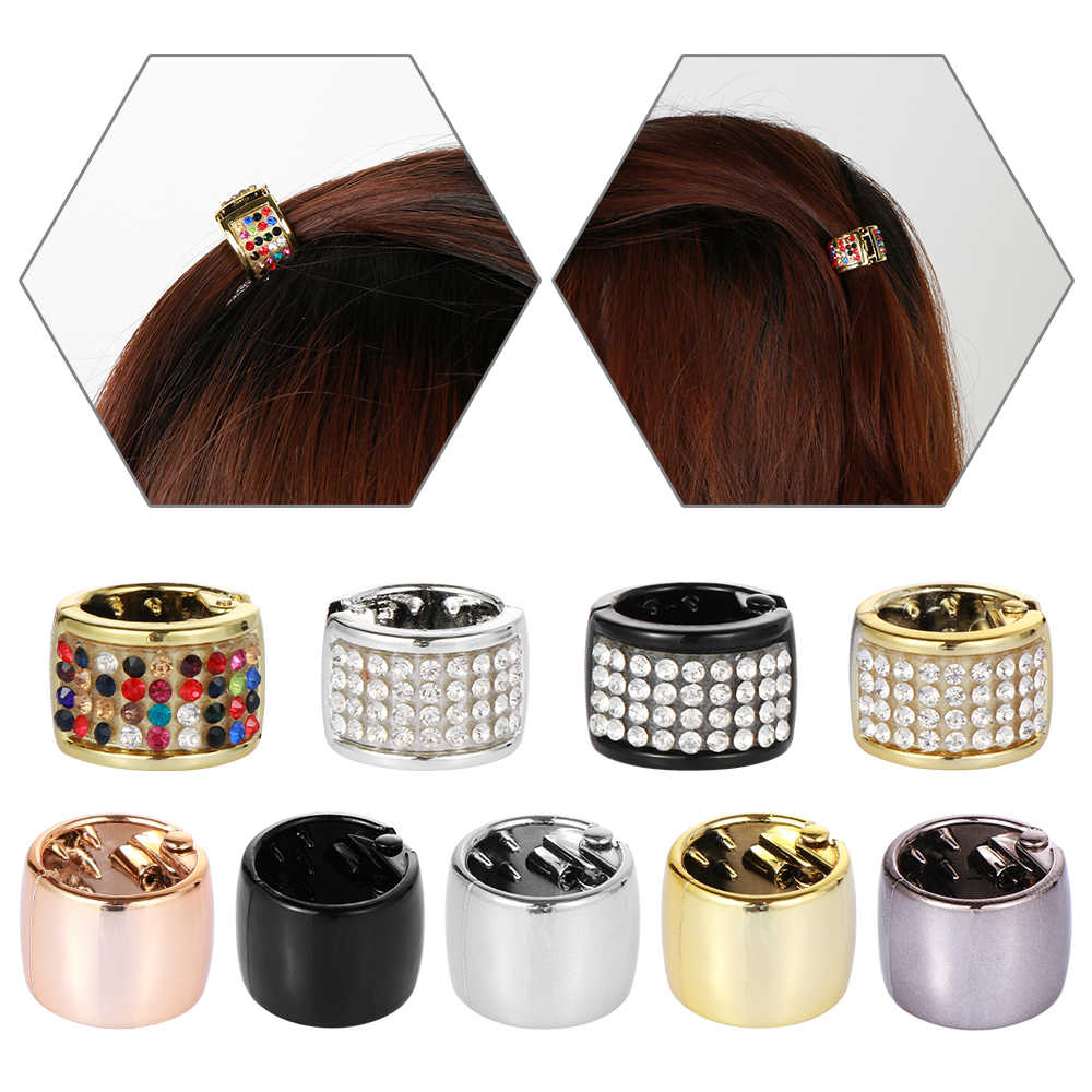 New Unique Woman Girls Elastic Ponytail Holder Hair Cuff Wrap Tie Band Ring Rope l Punk Hair Ropes Unique Hair Accessories