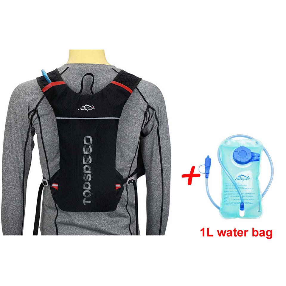 Black with Water bag