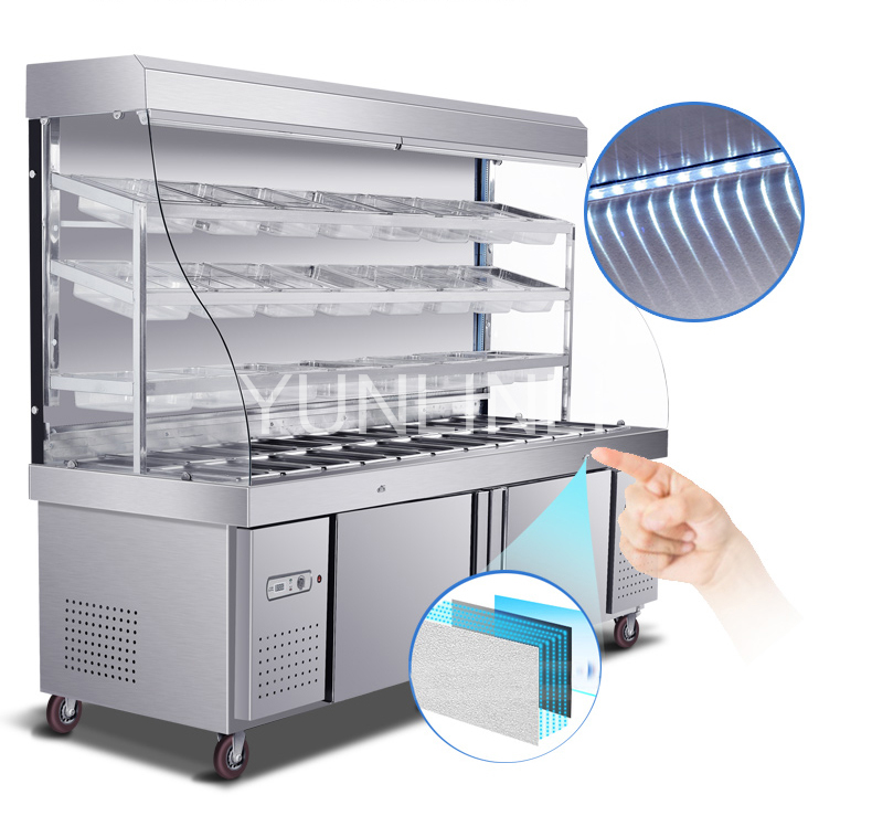Commercial Refrigeration Showcase Vegetable Refrigeration Cabinet Spicy Hot Pot Freezer   LB-896Commercial Refrigeration Showcase Vegetable Refrigeration Cabinet Spicy Hot Pot Freezer   LB-896