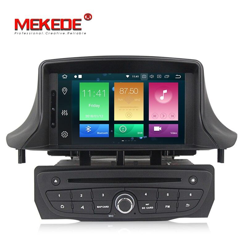 Восьмиядерный Android 8,0 dvd плеер автомобиля gps стерео радио для Renault Megane 3 Fluence с Wi Fi 4G RAM 32G ROM BT мультимедиа