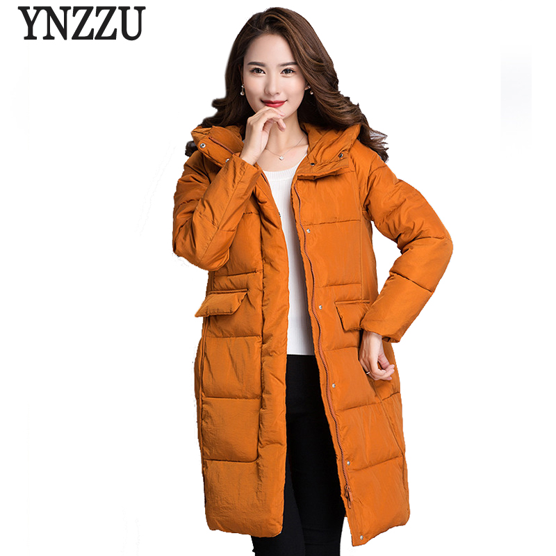 2017 New Winter Collection Women Parkas Korean Style Elegant Thick Warm Hooded Womens Bio Down Jackets Snow Coat Plus Size AO409 snsd tiffany autographed signed original photo 4 6 inches collection new korean freeshipping 012017 01