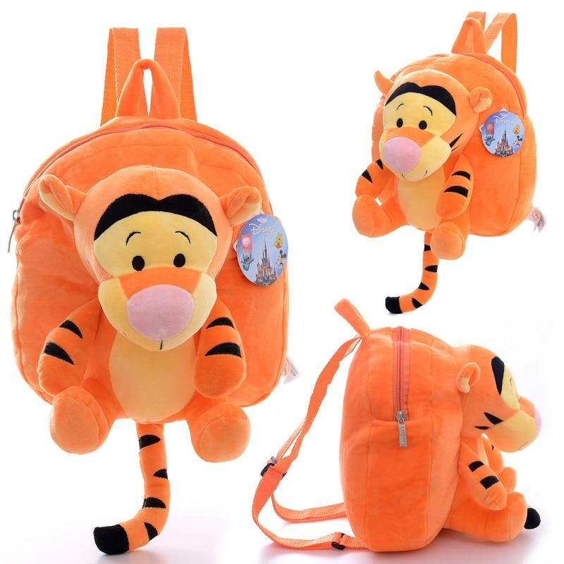 Estilo 5 Disney Mais Bonecas Brinquedo Jumping Tiger Winnie the Pooh Mickey Mouse Mickey Minnie Boneca de Pelúcia Saco das Crianças presente de aniversário
