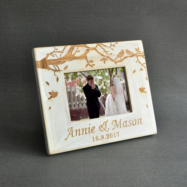 Vintage Hochzeit Foto Rahmen Nach Holz Hochzeit Paar Bilder Rahmen