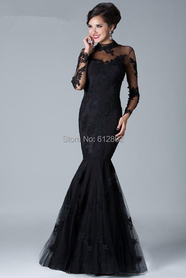 Black Bridesmaid Dresses Long Sleeves - Wedding Dress Ideas