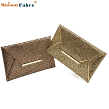 High quality Fashion Womens Sequins Envelope Bag Evening Party Purse Clutch Handbag