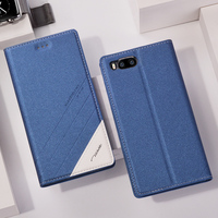Tscase Case For Xiaomi Mi6 Case Original Luxury Flip PU Leather Stand Phone Bag Cover For