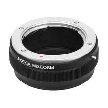 Fotga MD EOSM アダプタミノルタ md マウントレンズキヤノン eos m EF M M100 M10 M6 M5 M3 M2 ミラーカメラ