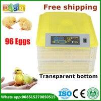 Brand New 220V 96 Chicken Eggs Incubator For Sale LED Display Temperature Digital Temperature Control