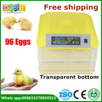 Brand New 220V 96 Chicken Eggs Incubator For Sale LED Display Temperature Digital Temperature Control