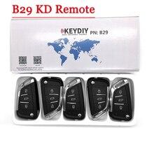 Generador de llaves de KD X2 serie B, nuevo modelo KD900 KD900 + URG200, mando a distancia B29 de 3 botones, KD remoto Universal, 5 unidades por lote, envío gratis