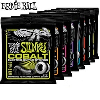 Ernie Ball Slinky Cobalt Electric Guitar Strings Made In USA High Quality 2725 2722 2726 2720