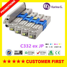 4PC/set Remanufactured Toner Cartridge for OKI C332dn MC363dn etc.