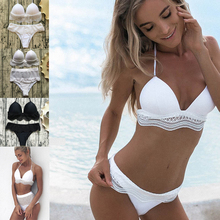 push up swimwear swim white thong bikini swimsuits push up bikini biquine feminino 2019 maillot de bain femme bathing suit
