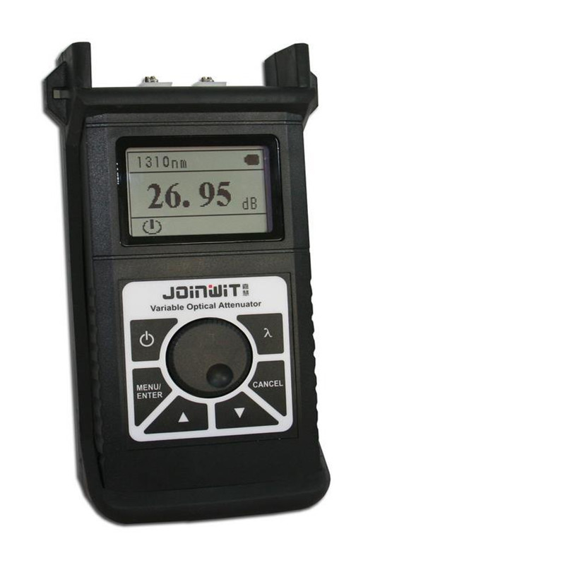 JW3303 Optical Variable Attenuator Telecom CATV Fiber Optic Tester 2.5~60dB 1260~1650 Variable optical attenuator