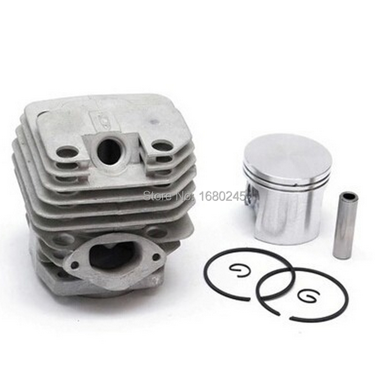 Manufacturers 5200 chainsaw cylinder assy cylinder kit 45.2mm parts for chain saw 1E45F on sale chain sprocket cover assy for chainsaw 61 262 266 268 272 free shipping partner chain brake parts 503 73 66 01