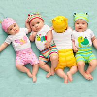 Baby Boy Clothes Summer Baby Girl Clothing Sets Unisex Baby Rompers Cotton Newborn Baby Clothes Roupa