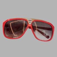 Fashion Goggle Sunglasses Ladies Sunglasses 2019 Luxury Vintage Shades Female Women Brand Designer Acetate Frame Sun Glasses