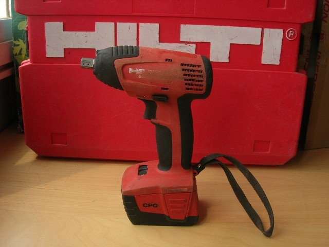 Swiss Factory Hilti SIW 144 A Cordless Impact Wrench Boutique Paragraph Lithium Single Price
